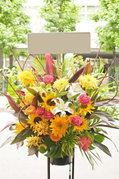 画像1: フラワースタンド1段10,000円(大阪市北区中央区福島区西区限定) (1)